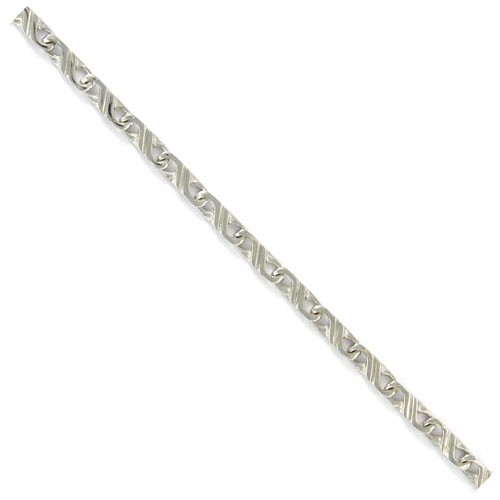 Aquarius stripe 8 kt hvidguld fra Houmann I/S